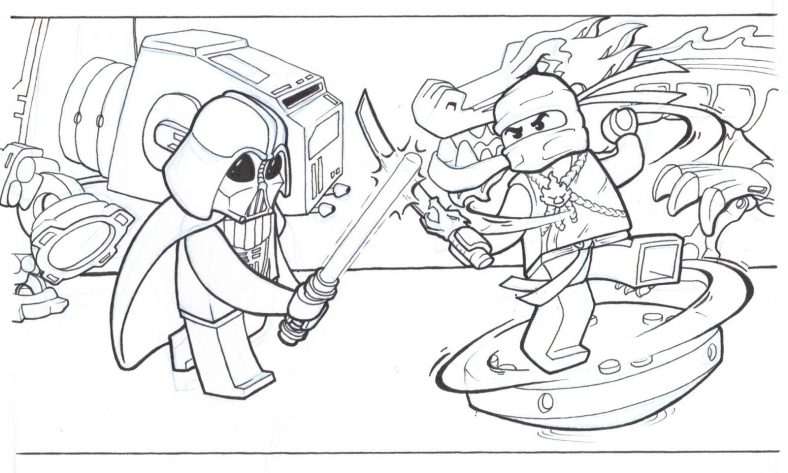 lego coloring pages 5