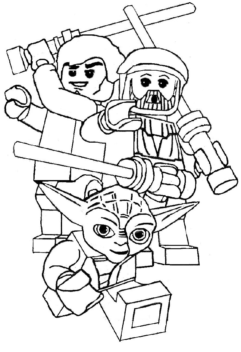 lego star wars coloring pages 2
