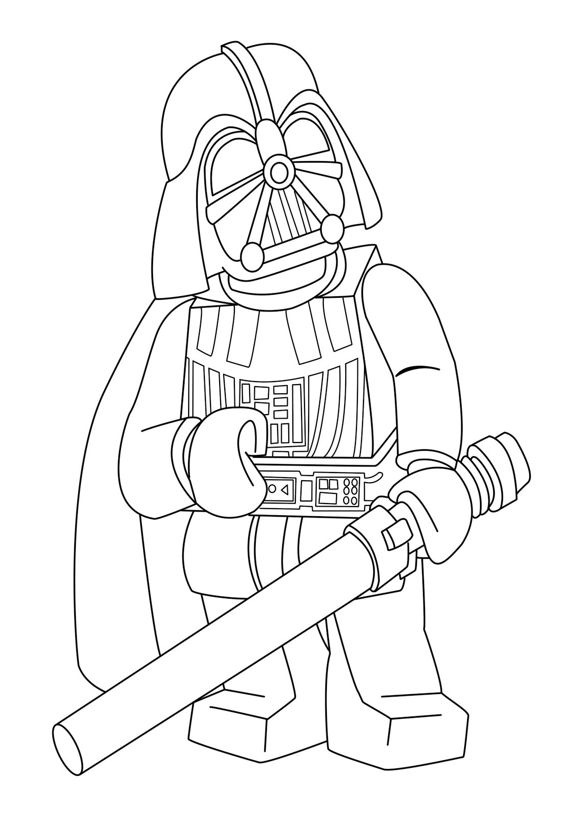 lego star wars coloring pages 3