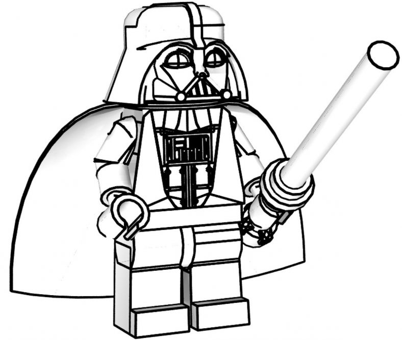 lego star wars coloring pages 4