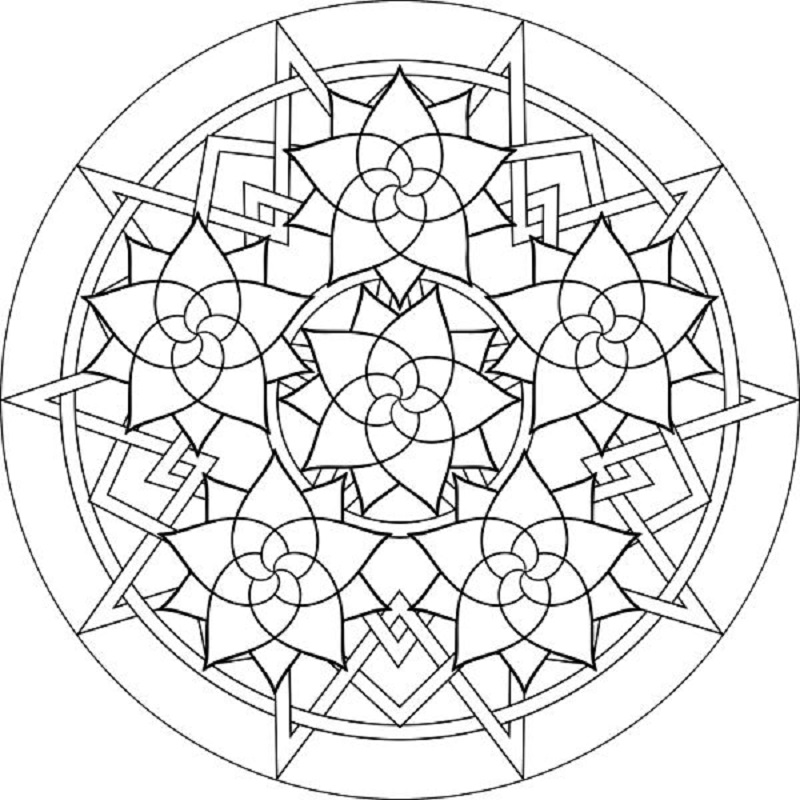 luther rose coloring page 4