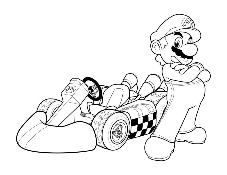 mario coloring pages 3