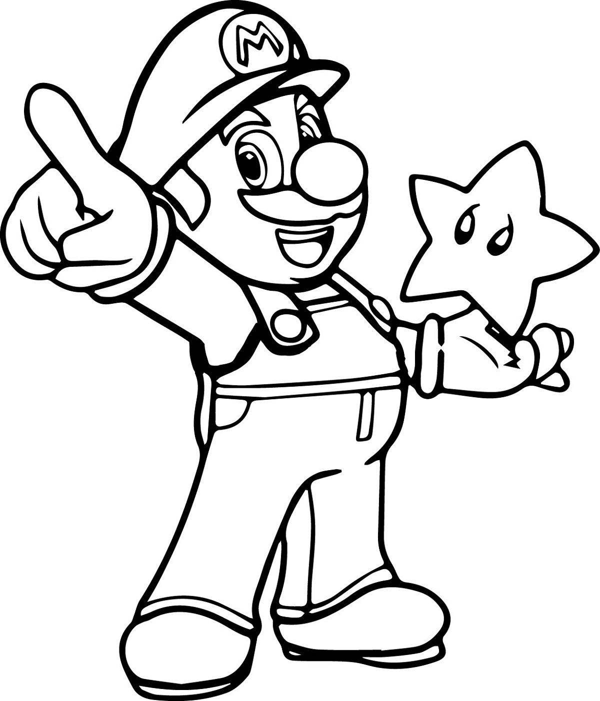 mario coloring pages 5