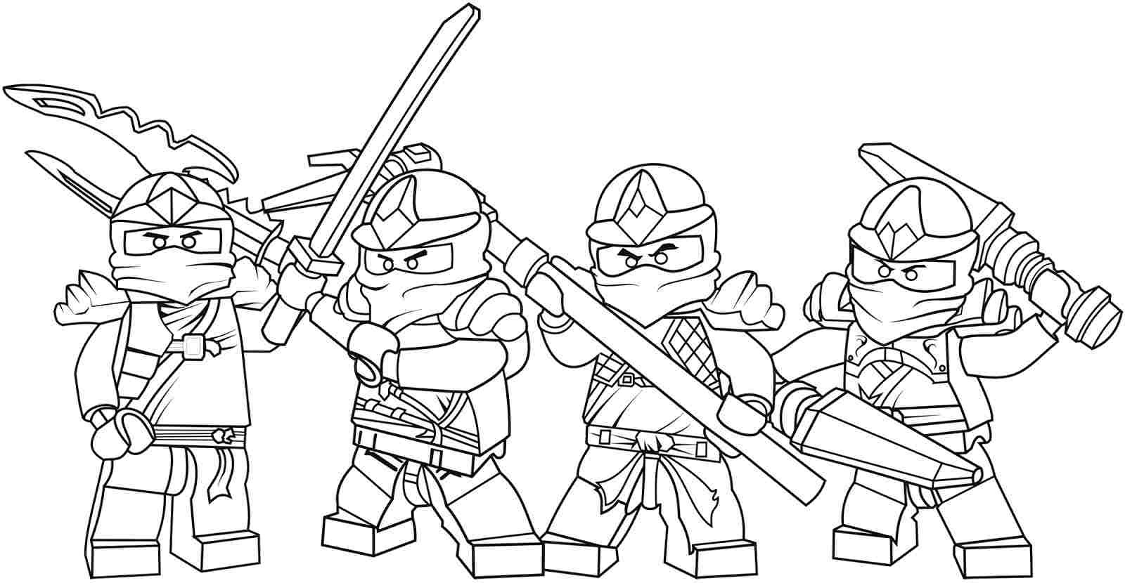 ninjago coloring games 3