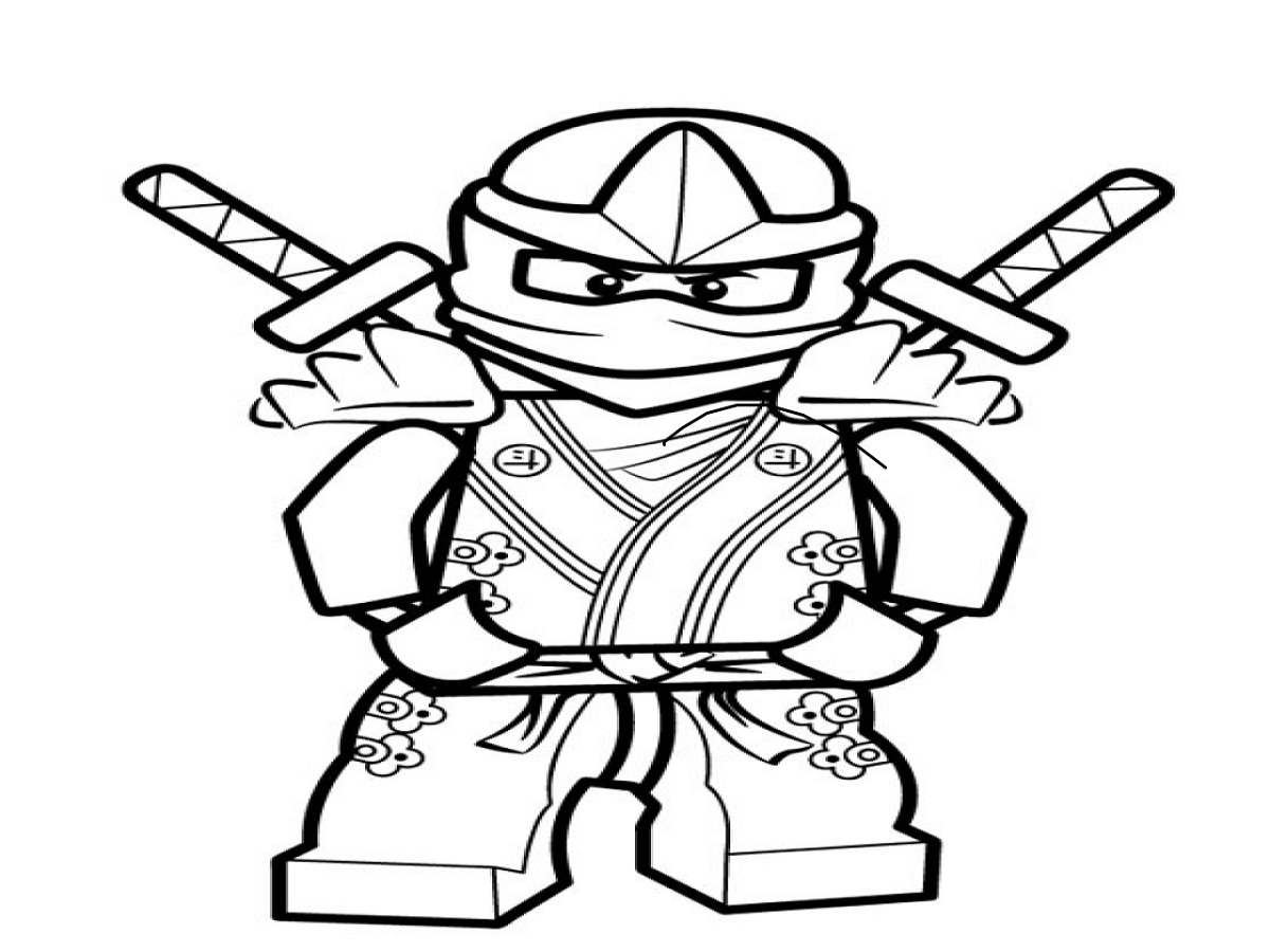ninjago coloring games 4