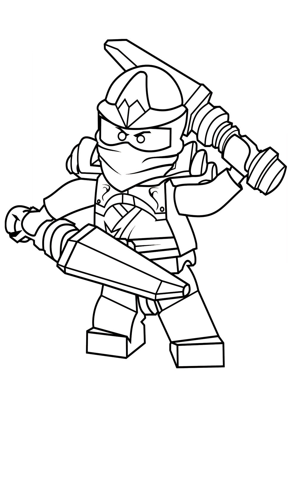 ninjago coloring games 5