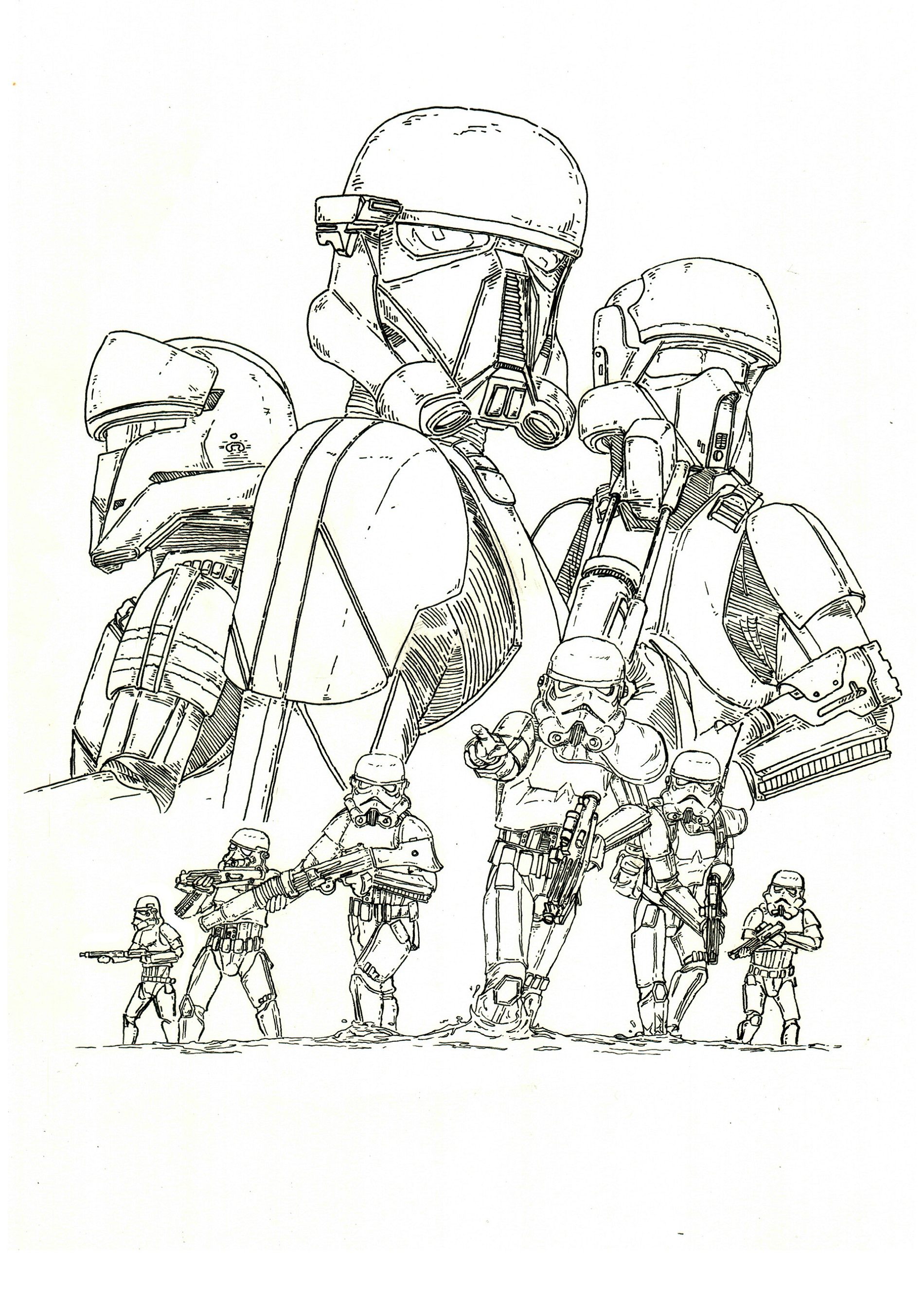 rogue one coloring pages 1