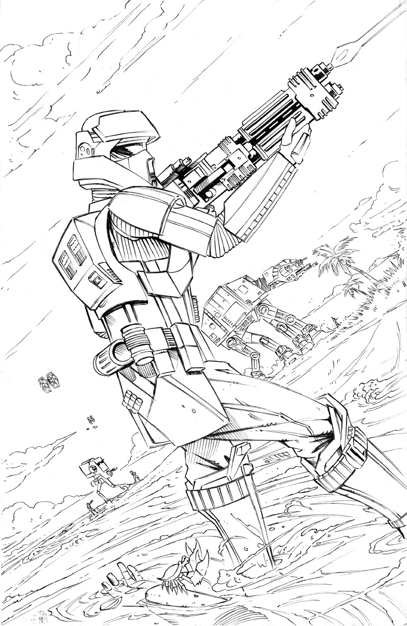 rogue one coloring pages 2