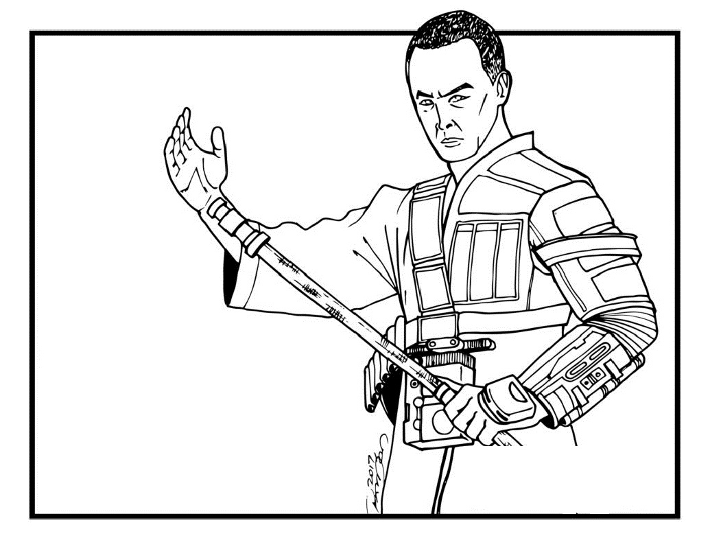 rogue one coloring pages 4