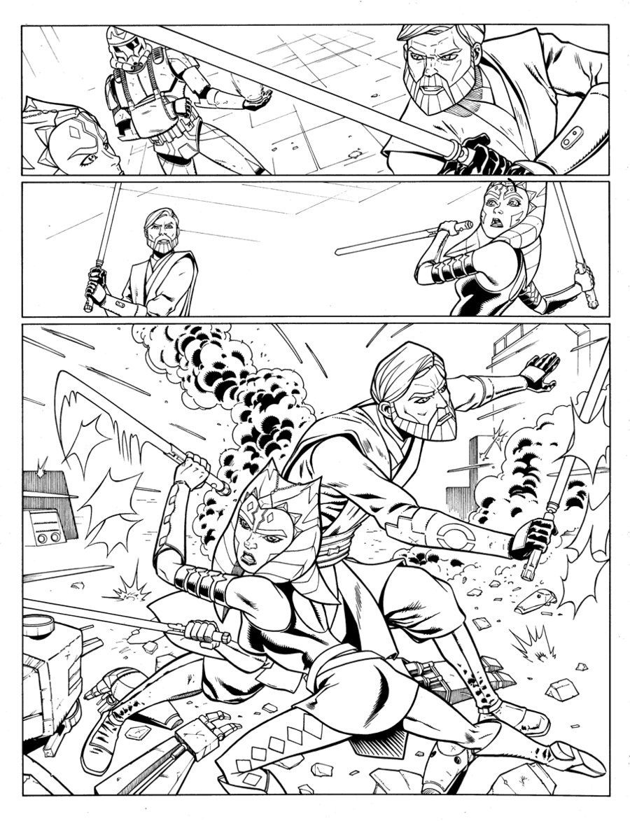rogue one coloring pages 5