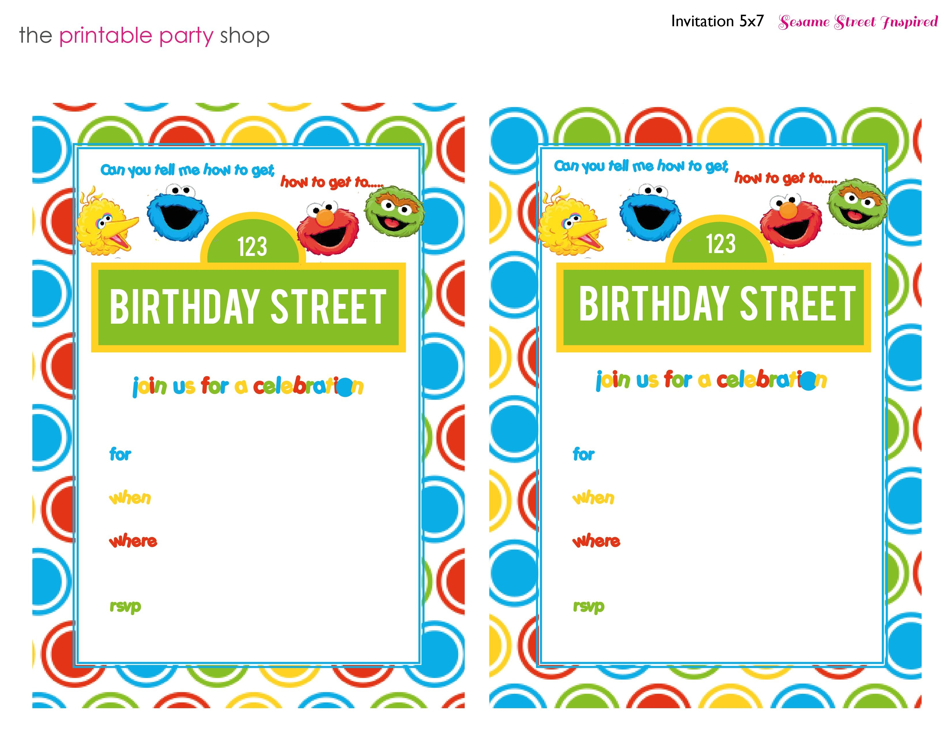 sesame street printables 3