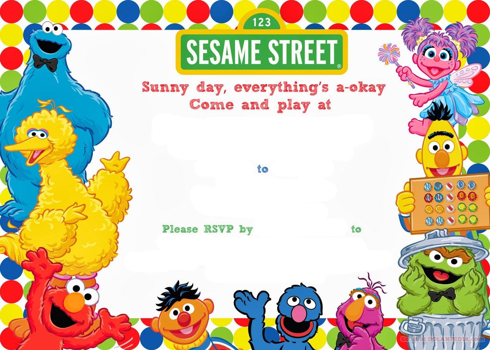 sesame street printables 4