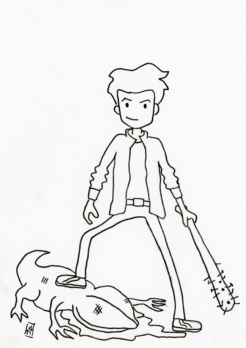 stranger things coloring pages 4
