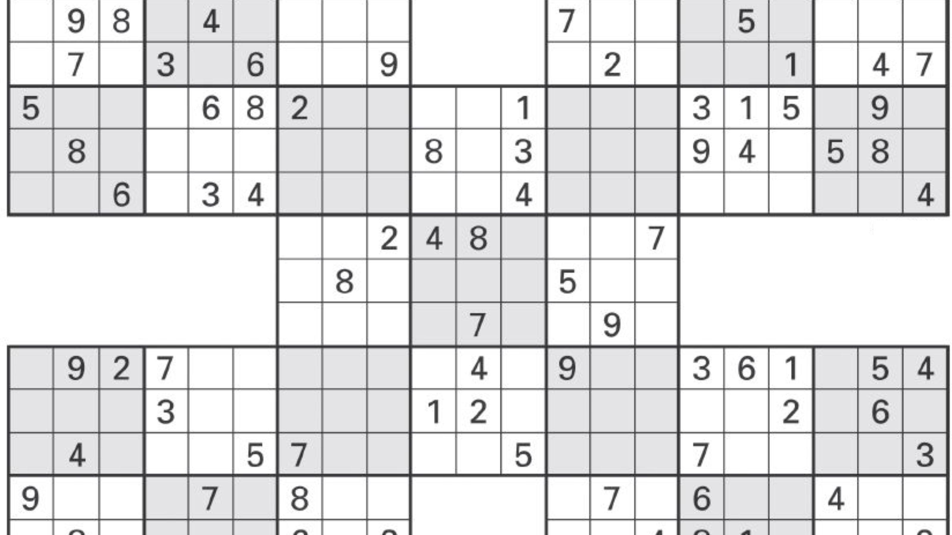 sudoku high fives 1