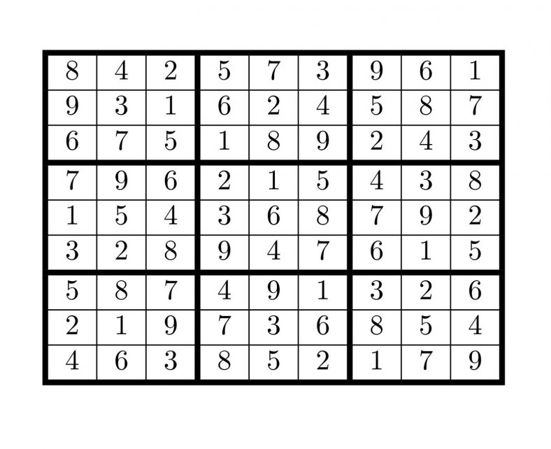 sudoku high fives 5