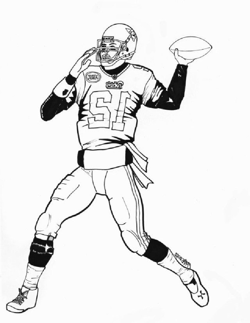 tom brady coloring pages 3