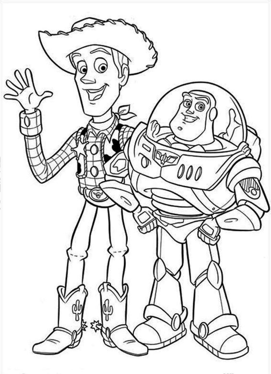 toy story coloring pages 2