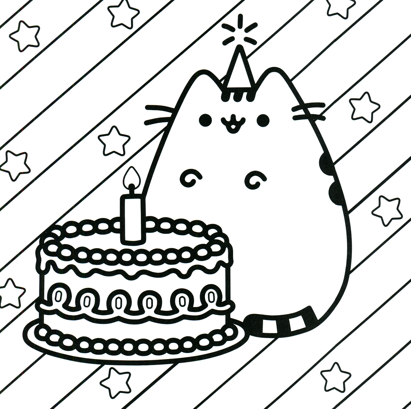 pusheen coloring book 2