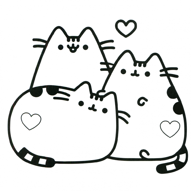 pusheen coloring book 3