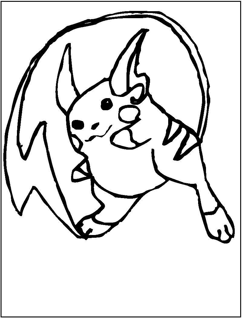 raichu coloring page 3