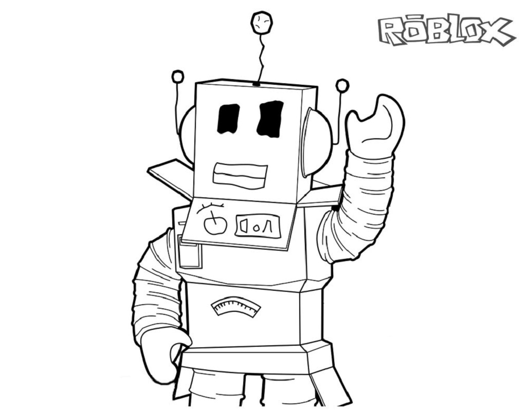 roblox coloring pages 4