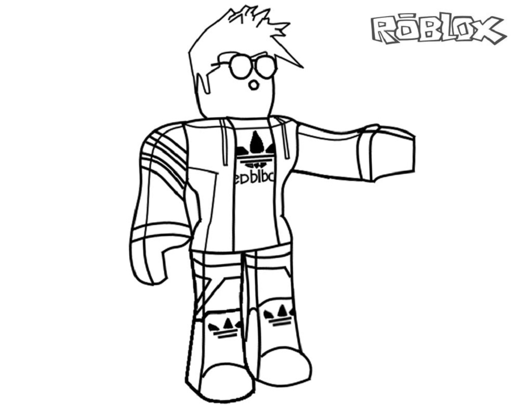 roblox coloring pages 5