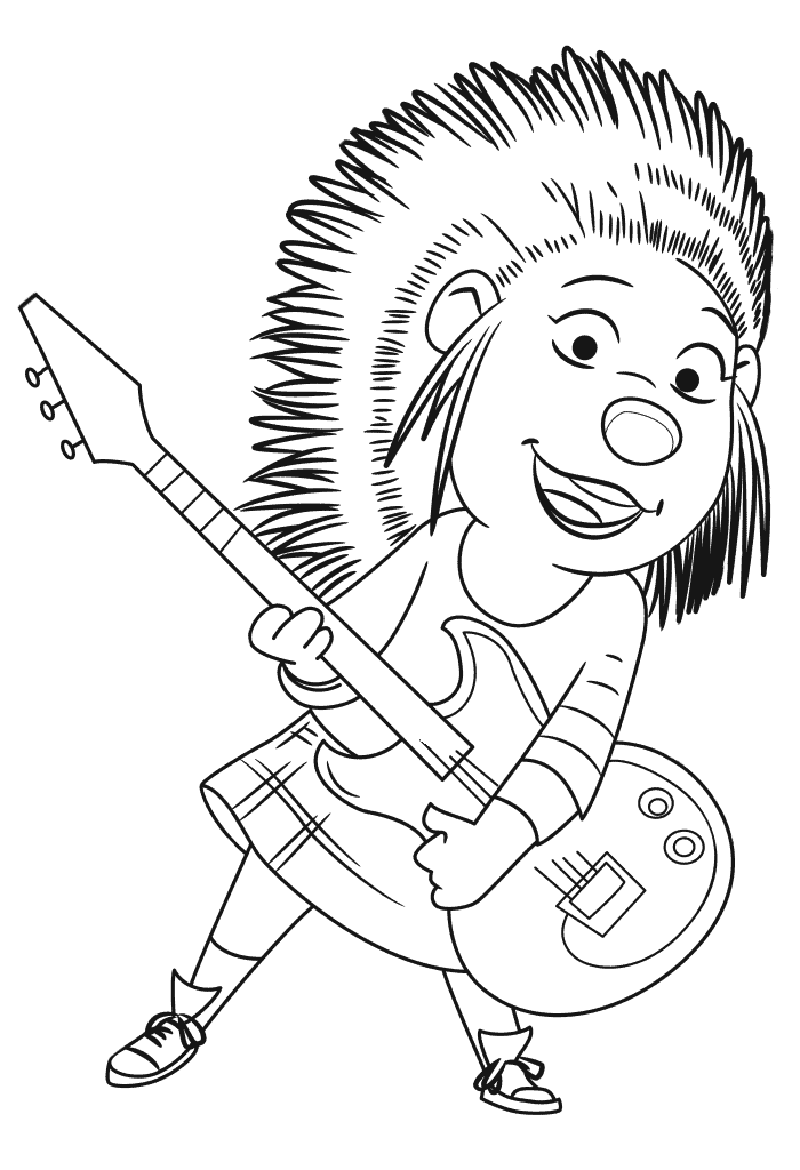 sing coloring pages 1