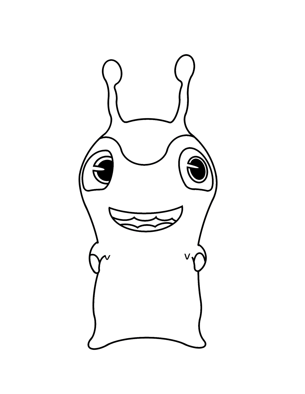 slugterra coloring pages jellyish