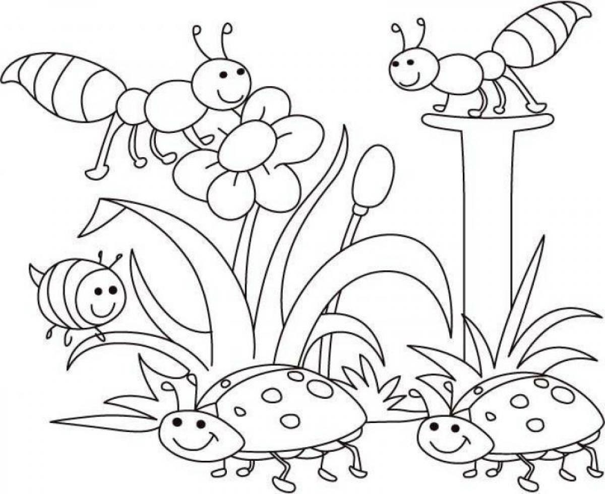 spring coloring pages 3