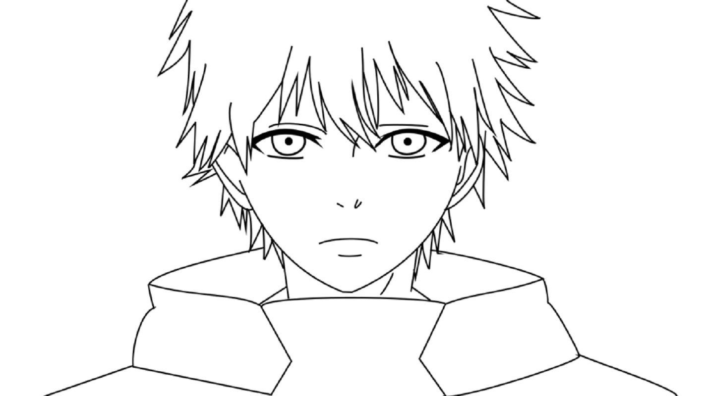 tokyo ghoul coloring pages 2