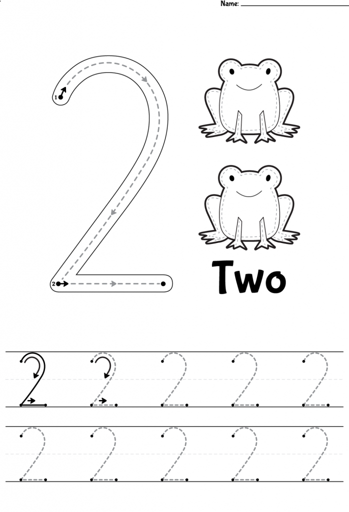 Free Printable Worksheets For 3 Year Olds Number