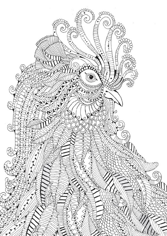 Free Printable Hard Coloring Pages For Adults Animal